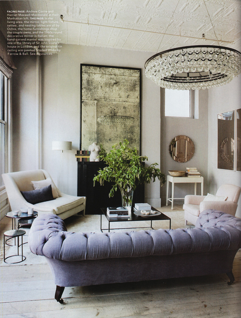 Elle Decor - Harriet Maxwell MacDonald - Tradescant & Son