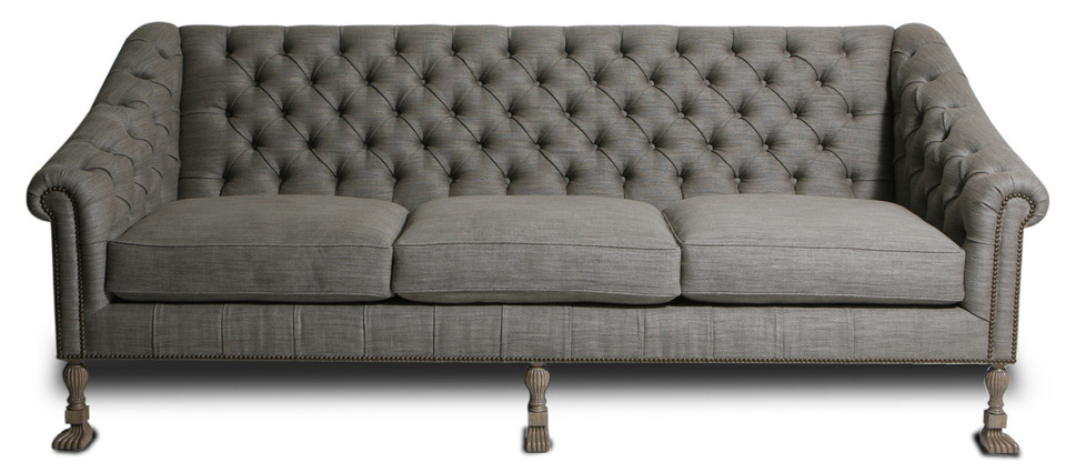 Kristen Buckingham Derby Sofa - Tradescant & Son