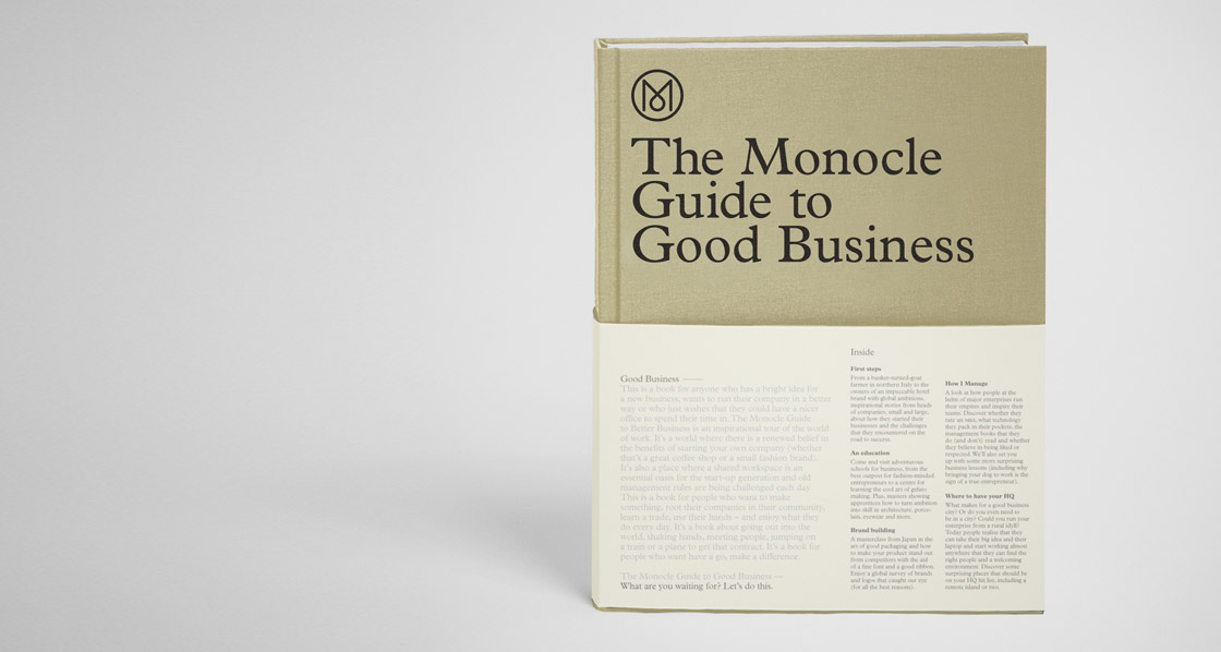 The monocle guide to good business – cool hunting.