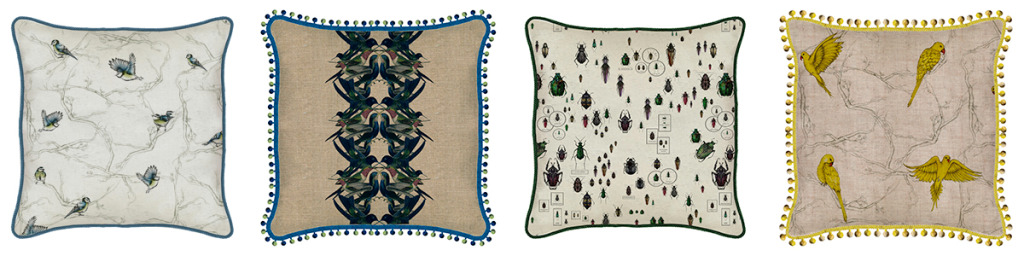 Tradescant and Son Premium Bespoke Cushion Collection