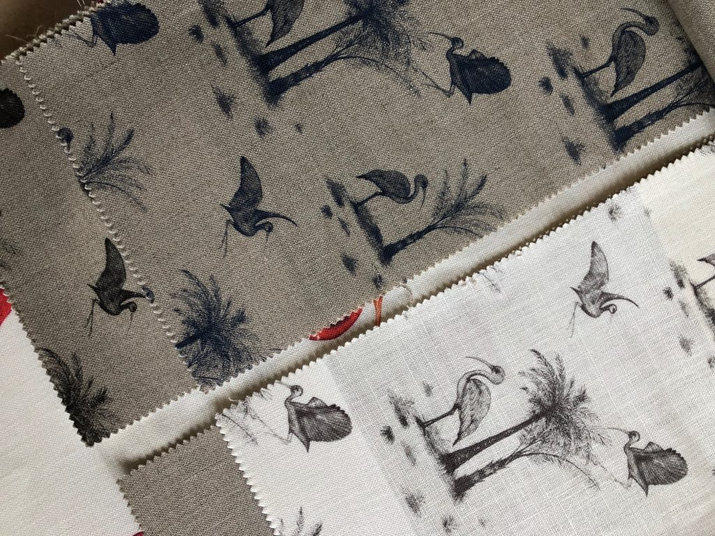 Ibis Toile de Jouy Colourways