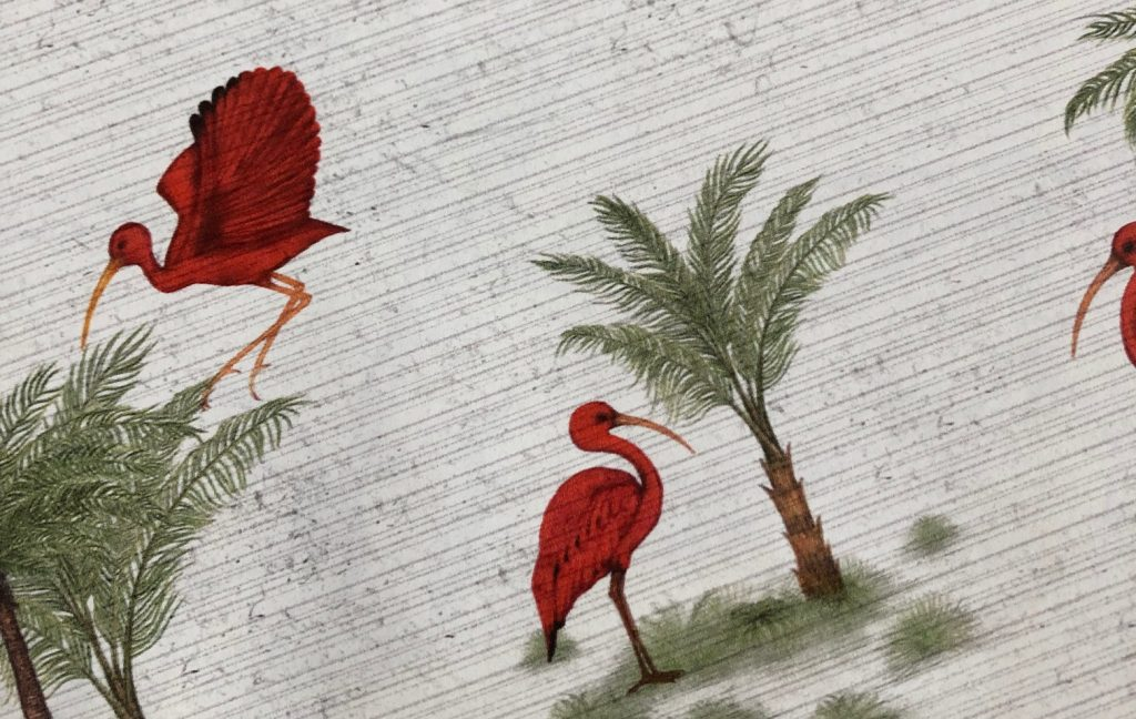 Ibis Toile De Jouy Wallpaper